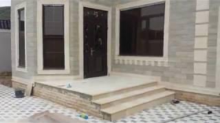 видео Отделка фасада дома дагестанским камнем