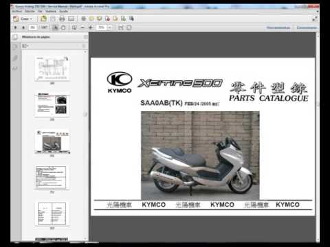 kymco xciting 500 service repair workshop manual download