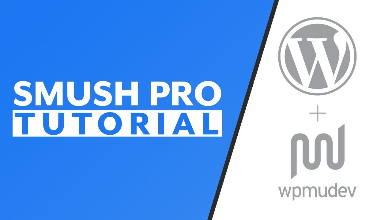 Use Smush Pro to Optimize WordPress Images - YouTube