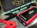 portable car truck  jump starter  usb battery  pack  power bank for diesel and gas