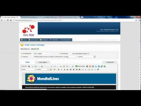 MondialLines - Producto Mailing Service