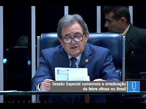 Foram 60 anos de luta para a erradicação da febre aftosa no Brasil, diz Waldemir Moka