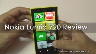 Nokia Lumia 720 Windows Phone 8 Review