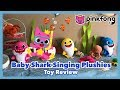 Pinkfong Baby Shark Singing Plush Family Let's Go Play