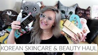 Korean Skincare And Makeup Haul! | Tony Moly, Wishtrend, Klairs, Minnavi, Berrisom