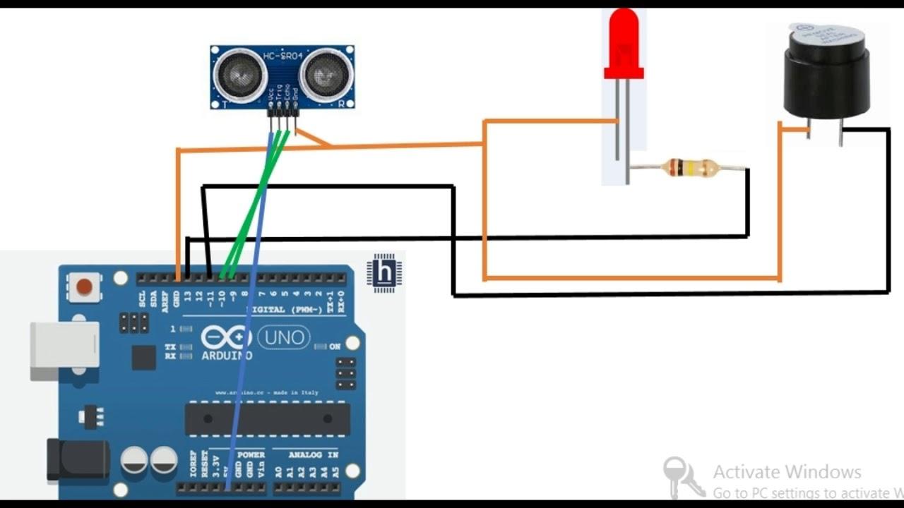 Analog Ultrasonic Motion Detector Circuit Great Installation Of Ultrasound Generator Schematicultrasonic Schematics Detect With Sensor Using Arduino Youtube Rh Com Distance Wiring Schematic