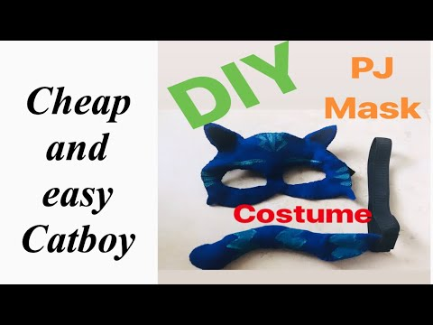 DIY Pj Mask Costume
