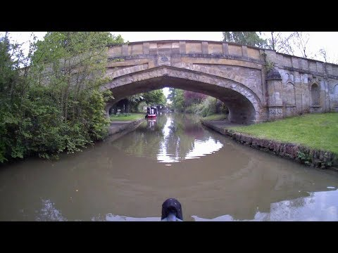 A time-lapse Narrowboat trip on the Grand Union canal.