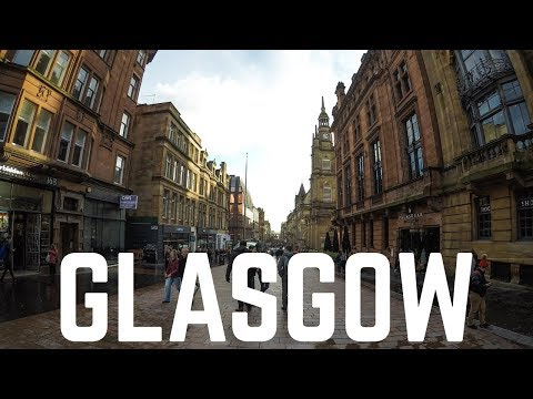 Glasgow Trip | GoPro Hero 5 | Scotland Travel 2017