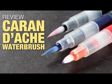 Review: Caran D'Ache Waterbrush