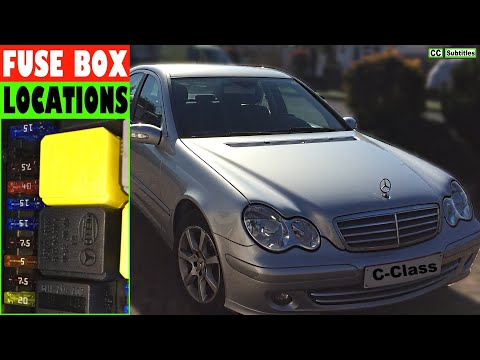 [DIAGRAM_38IU]  Mercedes C-Class Fuse Box Locations and how to check Fuses on Mercedes  C-Class - YouTube   1999 Mercedes Benz C230 Fuse Box      YouTube
