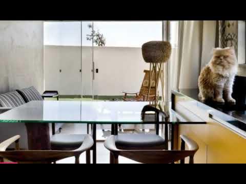 Rectangular Box House in Brasilia Revealing Inspiring Decorating Ideas