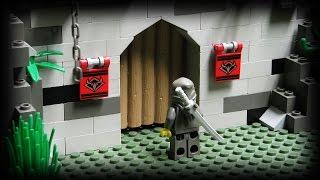 Lego Ninja - The Underground Fortress