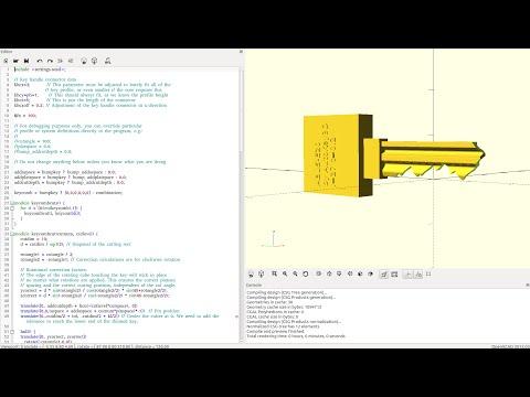 3D Printed Key Presentation and Demo on LockCon 2014