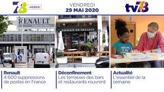 7/8 L'Hebdo. Edition du vendredi 29 mai 2020