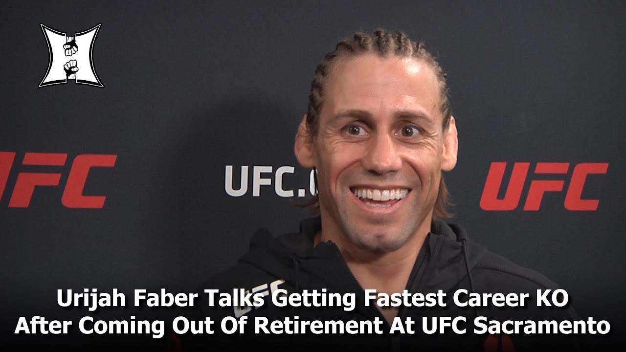 Urijah Faber Comes Out Of Retirement And Wins Fight