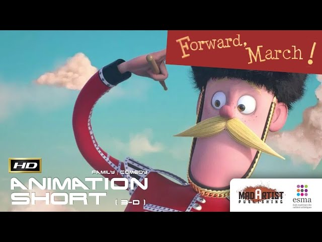 FORWARD, MARCH! | Funny 3D CGI Animated Film by ESMA