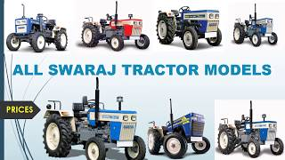 ALL SWARAJ tractor models with prices quick View