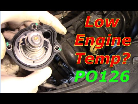 Diagnosing And Repair A Low Engine Temp.PO126 On A Mazda