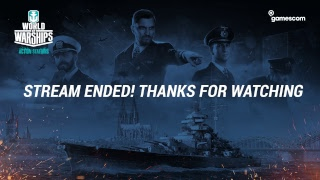 World of Warships Live from Gamescom