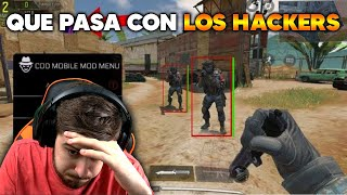 QUE PASA CON LOS HACKERS ?? COD MOBILE CALL OF DUTY MOVIL
