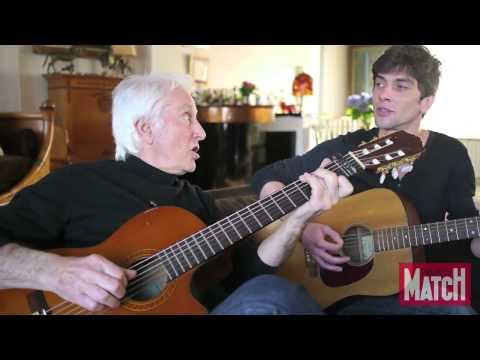 Marcel Amont et son fils Mathias chantent « Le chapeau de Mireille » de Georges Brassens