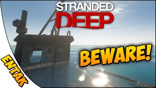 Stranded Deep Gameplay ➤ Stuck In A Boat - PSA: Don't Go In This Boat! [Part 9]