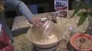 Making Irish Brown Bread