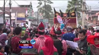 Ratusan Busana Songket Pukau Pengunjung Pameran Songket di Sawahlunto - NET12