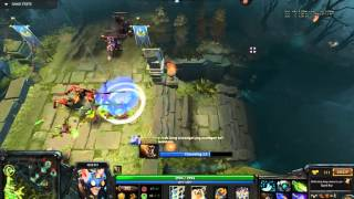 Meepo 3 vs 5 still win the game by Mirano.Xiao Die