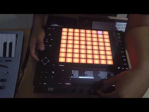 Making a sampled Hip hop beat on the Push | Ableton Push 2