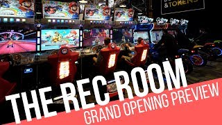 Cineplex's The Rec Room Downtown Toronto Grand Opening Preview