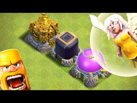 LOOT EVERYWHERE!  Dark Elixir Rune | TH12 Farm to Max | Clash of Clans