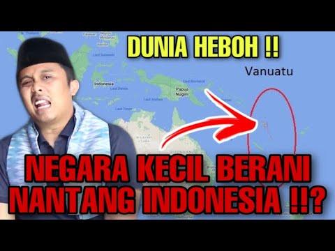 GEGEERR ‼️ NEGARA KECIL VANUATU CARI MASALAH SAMA INDONESIA DI PBB