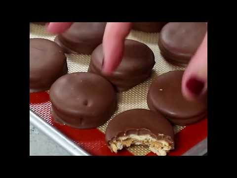 Peanut Butter Ritz Cookies