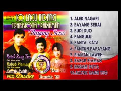 INDANG PARIAMAN VOL 1 - AMRIZ ARIFIN - Full Album - BAYANG SERAI