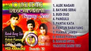INDANG PARIAMAN VOL 1 - AMRIZ ARIFIN - Full Album - BAYANG SERAI - Lagu Minang
