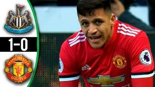 Newcastle vs Manchester United 1-0 All Goals & Highlights HD 11 02 2018