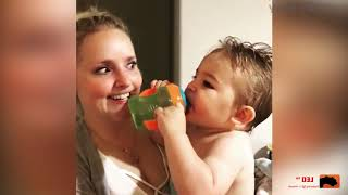 TOP 5 BEST FUNNY Funny Baby Reaction to Everything - Cute Baby Video