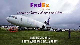 Download Video FedEx Express 910: Gear Collapse, Fire, Fuel Tank Explosion MP3 3GP MP4