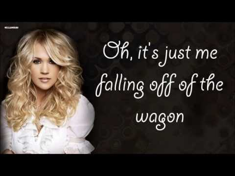 Relapse - Carrie Underwood (Lyrics)
