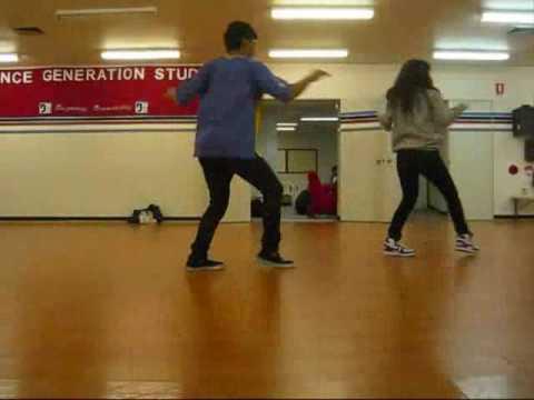 Usher Revolver Choreography