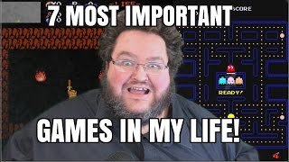 7 Most IMPORTANT VIDEO GAMES in my life!