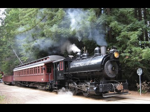 Roaring Camp RR#86 Chiggen's Test Run and Action Around Roaring Camp