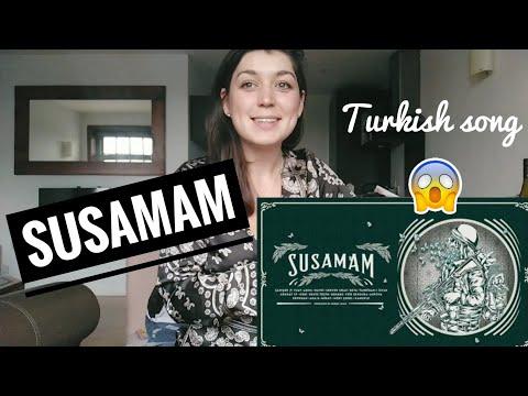 SUSAMAM REACTION | Turkish Song | Saniser
