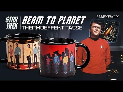 Star Trek: Beam To Planet Thermoeffekt-Tasse