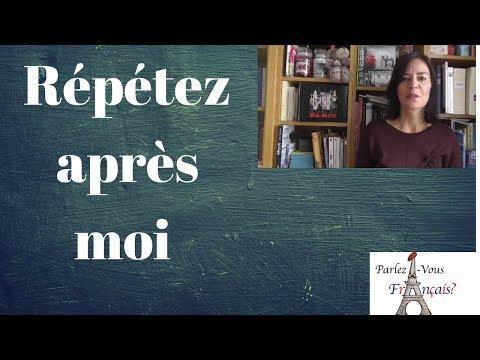 Exercices de prononciation en français