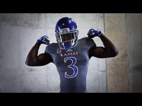 Kansas Football Unveils New Adidas Uniforms