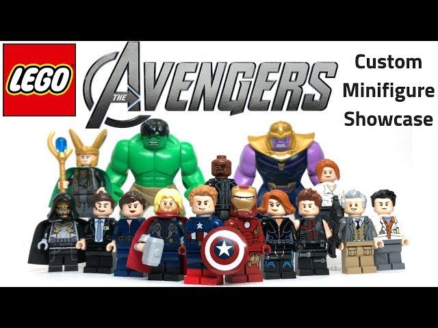 LEGO AVENGERS Custom Minifig Showcase - Road to Avengers: Endgame