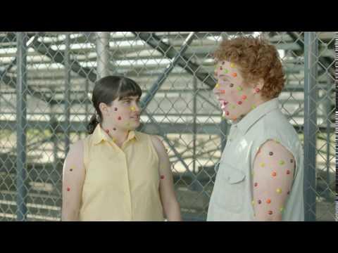 Skittles TV Commercial: Bleachers